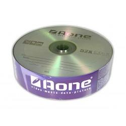 AONE 25 PACK 52 SPEED CD-R