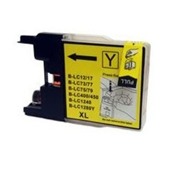 BRITHER COMPATIBLE LC1220 YELLOW INK CARTRIDGE