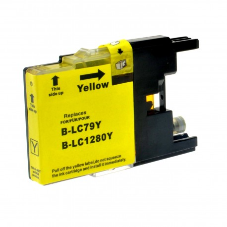 BROTHER LC1280Y COMPATIBLE YELLOW INK CARTRIDGE