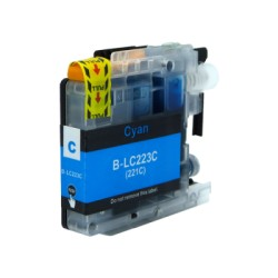 Brother LC223C COMPATBLE CYAN INK CARTRIDGE