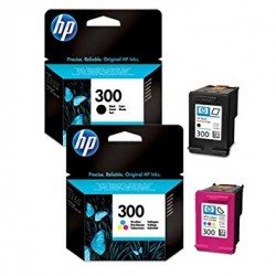 HP 300BXL & 300CXL COMPATIBLE INK SET