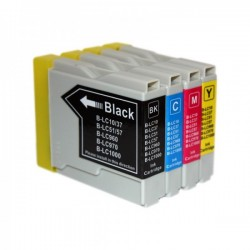 BROTHER COMPATIBLE LC970/1000 INK SET