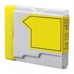 BROTHER COMPATIBLE LC970/1000Y YELLOW INK CARTIDGE