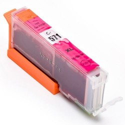 CANON C-571XLM COMPATIBLE MAGENTA INK CARTRIDGE