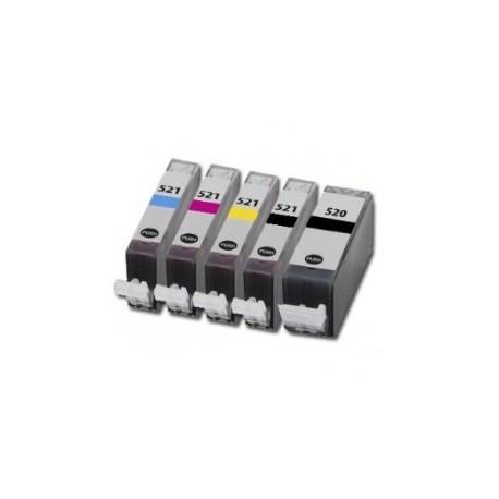 CANON C-520-C521 COMPATIBLE INK SET