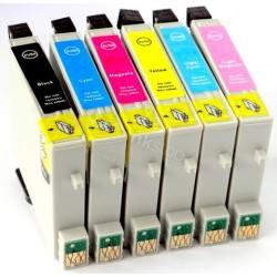 EPSON E-T0487 COMPATIBLE INK SET