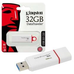 KINGSTON 32GB G4 DATA TRAVELER FLASH DRIVE