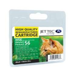 HP H56 JETTEC COMPATIBLE BLACK INK CARTRIDGE
