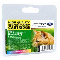 HP H57 JETTEC COMPATIBLE COLOUR INK CARTRIDGE