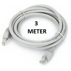 3 METER WHITE ETHERNET CABLE