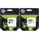 HP 302 COMPATIBLE INK CARTRIDGES