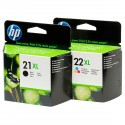 HP H21XL & H22XL COMPATIBLE INKS