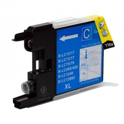 BROTHER COMPATIBLE LC1220 CYAN INK CARTRIDGE