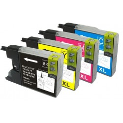 BROTHER LC1280 COMPATIBLE INK SET