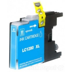 BROTHER LC1280C COMPATIBLE CYAN INK CARTRIDGE