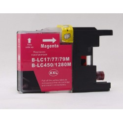 BROTHER LC1280M COMPATIBLE MAGENTA INK CARTRIDGE
