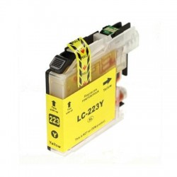 BROTHER LC223Y COMPATIBLE YELLOW INK CARTRIDGE