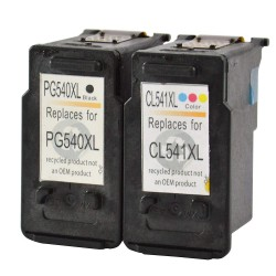 CANON PG-540XL & CL-541XL COMPATIBLE INK SET