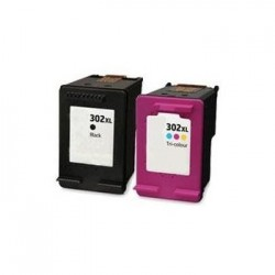 HP 302BXL & 302CXL COMPATIBLE INK SET
