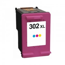 HP 302CXL COMPATIBLE TRI COLOUR INK CARTRIDGE