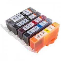CANON C-525BK-C526Y COMPATIBLE INK SET