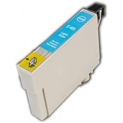 EPSON E-T0485 COMPATIBLE LIGHT CYAN INK CARTRIDGE