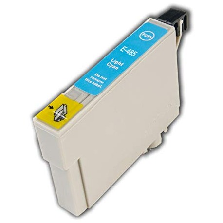 EPSON E-T0485 COMPATIBLE LIGHT CYAN INK CARTRIDGE