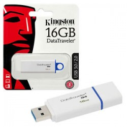 KINGSTON 16GB G4 DATA TRAVELER FLASH DRIVE