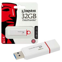 KINGSTON 32GB G4 DATA TRAVELER FLASH DRIVE