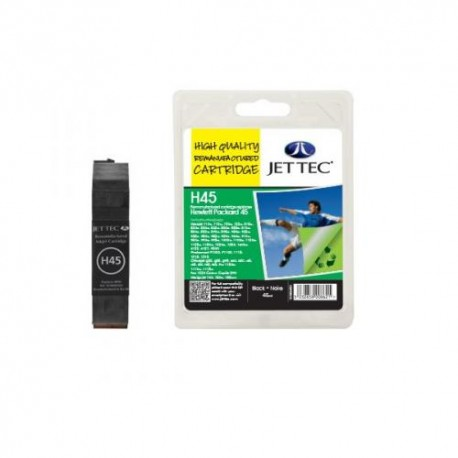 HP H45 JETTEC COMPATIBLE BLACK INK CARTRIDGE