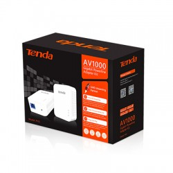TENDA AV1000 POWERLINE ADAPTOR KIT