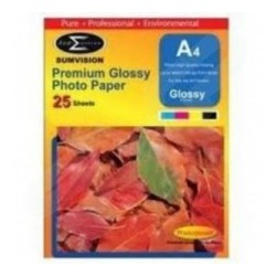 SUMVISION 180G A4 PREMIUM GLOSS PAPER 25 SHEETS