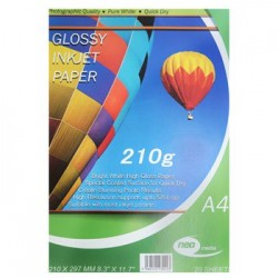 NEO MEDIA 260G GLOSS PHOTO PAPER 20 SHEETS